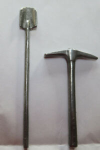 Replacement pick and shovel tools for Hubley Telephone truck