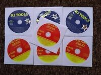 7 CDG LOT SET OLDIES POP ROCK KARAOKE CD+G - BON JOVI,WHAM,ZZ TOP CD MUSIC  16c