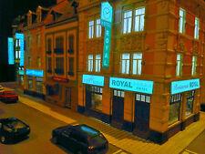 6 diferent Lighting neon sign  for buildings HO TT N front sides or roadside