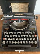 Continental Reiseschreibmaschine...