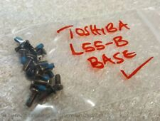 TOSHIBA Satellite L55-B L55T-B5164WM Laptop Screws (for the Bottom Assembly)