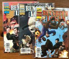 Ben Grimm Logan X men vs Fantastic Four 1,2,3 full set