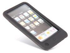Silikon Tasche Apple iPod Touch G3 iPod Touch G2 Schwarz Etui Schutz Hülle *neu*