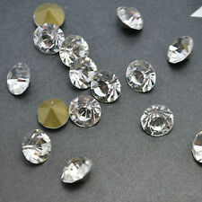 SS3 (1.35mm) Crystal Clear Point back Rhinestones Glass Strass Chatons 1440ps U1
