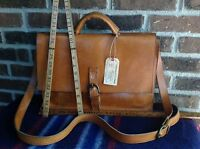 VINTAGE 1990's BASEBALL GLOVE LEATHER MACBOOK PRO MESSENGER BRIEFCASE BAG R$998