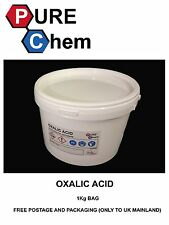 OXALIC ACID 1KG Hull Deck GRP Cleaner & Rust Remover PURE CHEM (Heat Seal Tub)