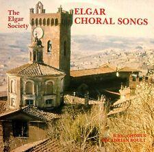 Elgar Choral Songs & Spoken Reminiscences Sir Adrian Boult 1982 Elgar Society LP
