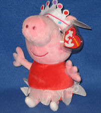 TY BALLERINA PEPPA the PIG - UK EXCLUSIVE - MINT with MINT TAGS