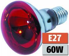 E27 60W ROT-  HQ Reflektorlampe Glühlampe Glühbirne