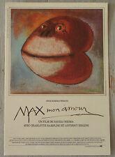 Carte Postale Postcard  - Max Mon Amour - Charlotte Rampling - Anthony Higgins