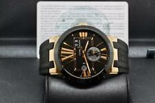 ✫ULYSSE NARDIN✫Executive Dual Time Automatic 43mm 18kt Rose Gold - 100% Complete