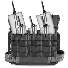 Bulldog Forward Ops Military Tactical Armed Police Thigh Ammo Drop Leg Rig Black
