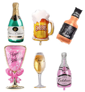 Drink Champagne Beer Whiskey Bottle Cup Glass Balloon