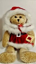 """Chantilly Lane Musical Bear Merrie Sings """"All I want for Christmas is you"""""""