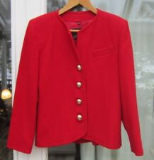 LADIES Vintage WOOL CASHMERE JACKET.SIZE 10 Designer jacket by Mac Taggart