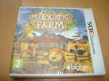 MY EXOTIC FARM ** NEW & SEALED ** Nintendo 3DS Game