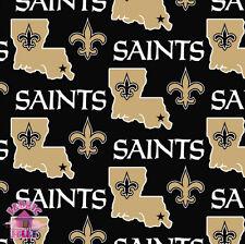 New Orleans Saints NFL Fleece Fabric 6267 D