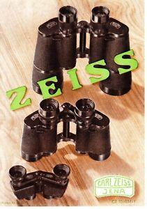 Carl Zeiss VEB Binocular Brochure -  early 1950?