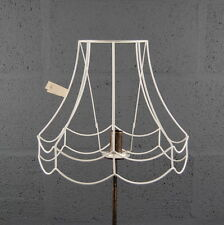 "12"" Double Scollop Wire Lampshade Lamp Shade Frame"