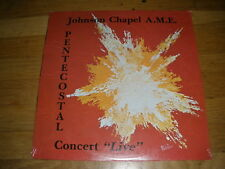 JOHNSON CHAPEL pentecostal live LP Record - sealed