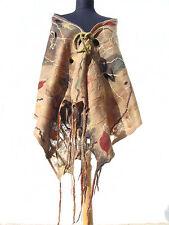 Handmade Shawl, Wool Scarf, Warm, Felted, Eco-Fashion, Cobweb, Large Wrap
