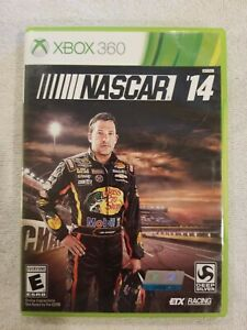NASCAR 14 (Microsoft Xbox 360, 2014) COMPLETE TESTED RARE FREE S/H