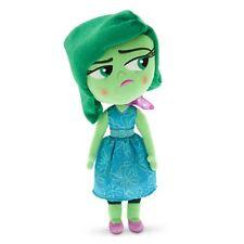 "Inside Out Disgust Plush Soft Toy Doll Pixar Disney Store Original BNWT 36cm 14"""