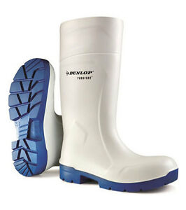 Dunlop Purofort MultiGrip Wellington Boots Steel Toe Cap Protection Food