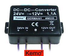 Gleichpannungswandler DC-DC-WANDLER Umwandler 24 VDC auf 12 Volt KFZ/PKW/Bus/LKW
