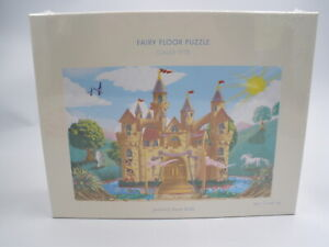 New Pottery Barn Kids Fairy Floor Puzzle 48 Jumbo Pieces Easy Clean 2x3 ft.