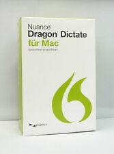 Nuance Dragon Dictate 4.0 für Mac - Deutsch - DVD -