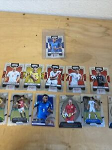 2018 Panini Prizm World Cup Soccer #80 Kylian Mbappe France RC rookie +11 (READ)