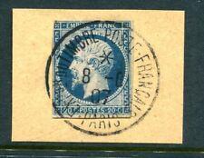 France Napoléon N° 14 oblitéré cachet à date exposition du timbre 1907