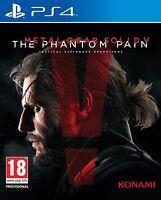 PS4 Spiel Metal Gear Solid V 5 - The Phantom Pain NEUWARE