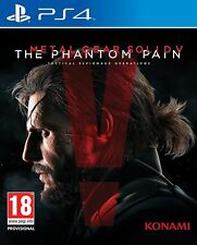 Ps4 gioco Metal Gear Solid V 5-The Phantom Pain Merce Nuova
