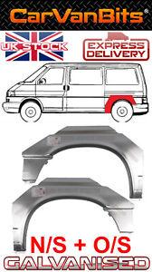 VW TRANSPORTER T4 SWB 90-03 REAR WHEEL ARCH WING FENDER PAIR REPAIR PANEL NS +OS