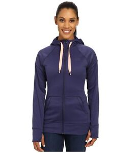 NWT Women's The North Face Suprema Full Zip Drawstring Hoodie Patriot Blue