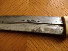 Rare Russian Imperial 19th C. Caucasian BEBUT KINJAL Dagger Sword by OSMAN