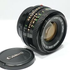 Canon FD 50mm f1.8 prime lens, fits A1 AE1 AT1 T90 T60 Camera mount etc FDn Ver.
