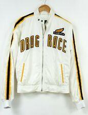 DAKOTA Drag Race Jacket White Mens Waterproof Breathable Size M