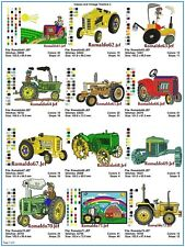 "AUSTRALIAN SITE: "" Classic & Vintage Tractors 3 "" - 15 Top Notch Designs on CD"