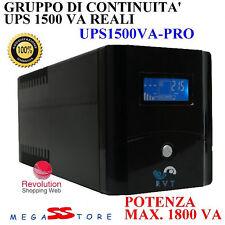 Gruppo di continuità UPS potenza max 1800va DVR pc Monitor stufa  pellet display