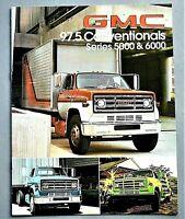 ORIGINAL 1979 GMC 5000 & 6000 SERIES TRUCK BROCHURE ~ 8 PAGES ~ 79GMC56