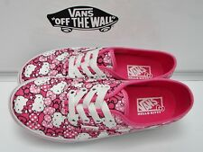 VANS Authentic (Hello Kitty) Morning Glory/Hot Pink VN-0RQZ8M1 Kids Size 2.5