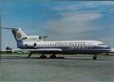 (vp7) Airplane Postcard: Kazair, Jak-42D
