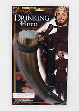 Medieval Drinking Horn Renaissance King Viking GOT Costume Accessory