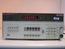 Hp 8901a Modulation Analyzer