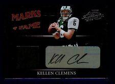 2006 Playoff Absolute Kellen Clemens Jersey Auto Card #MF-28 21/25 16433