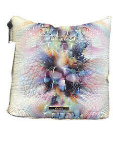 New Brahmin Melbourne Katie Leather Crossbody Bag PRISM OMBRE Pink Blue 2021