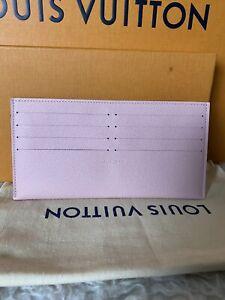 Louis Vuitton Pochette Felicie Epi Leather Rose Ballenrine Card Insert